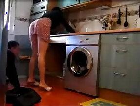 Minha esposa provocando o encanador