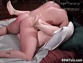Chubby wife cheating on her husband