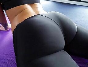 Big Round Ass Jada Stevens Takes huge Cock After Yoga