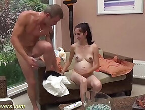 her first pregnant sex video