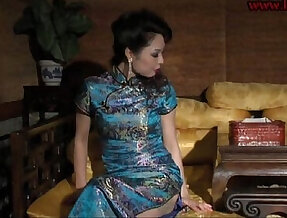 chinese bondage very sexy stockings and high heels