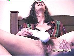 Testing new vibrator orgasm