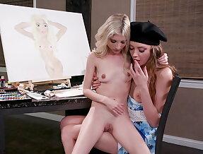 Piper Perri shines in a lesbian scene